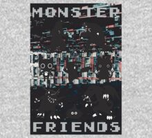 Monster Friends Kids Tee