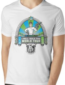 I Will Rule the World Tour Mens V-Neck T-Shirt