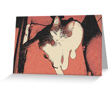 Human, cant you see Im bathing here? Greeting Card