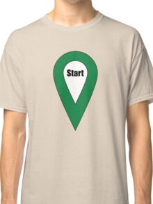 Start Here Couple or Kids Exploring Classic T-Shirt