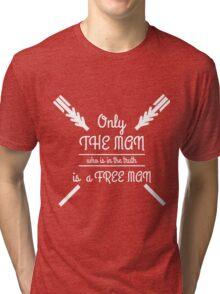 Text  Tri-blend T-Shirt