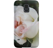 white roses Samsung Galaxy Case/Skin