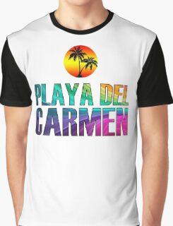 The Beach, Playa del Carmen Graphic T-Shirt