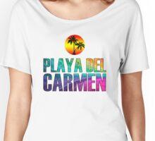 The Beach, Playa del Carmen Women's Relaxed Fit T-Shirt