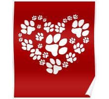 Love Paws Poster