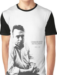 Christopher Hitchens - pen ink style Graphic T-Shirt