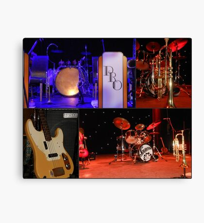 A Jazzy Collage Canvas Print