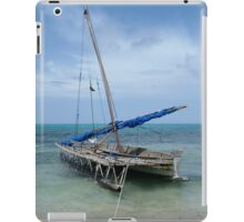 Relaxing After Sail Trip iPad Case/Skin