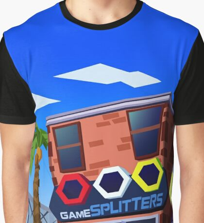 Game Splitters Game Store Graphic T-Shirt