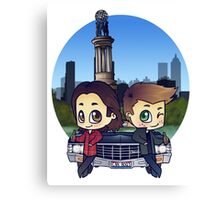 Winchesters in Atlanta Canvas Print