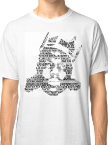 Biggie It Was All A Dream (White) Classic T-Shirt