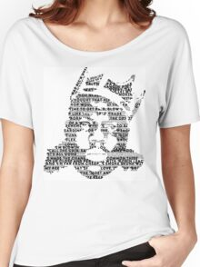 Biggie It Was All A Dream (White) Women's Relaxed Fit T-Shirt