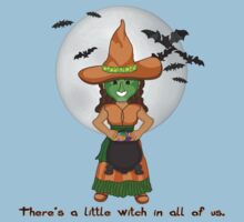 The Little Witch One Piece - Short Sleeve