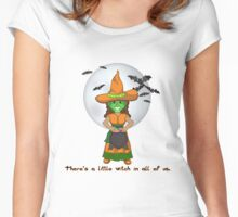 The Little Witch Women's Fitted Scoop T-Shirt