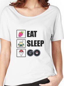 Eat, Sleep, GO - Pokemon GO  Women's Relaxed Fit T-Shirt