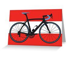 Bike Flag Austria (Big - Highlight) Greeting Card