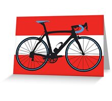 Bike Flag Austria (Big - Highlight) Greeting Card