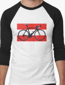 Bike Flag Austria (Big - Highlight) Men's Baseball ¾ T-Shirt