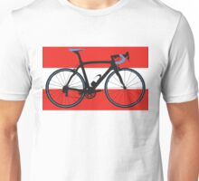 Bike Flag Austria (Big - Highlight) Unisex T-Shirt
