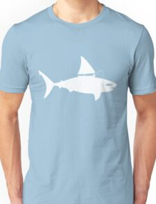 A fin day for fishing: WHITE Unisex T-Shirt