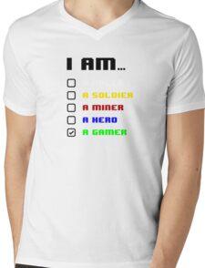 I am a Gamer Mens V-Neck T-Shirt