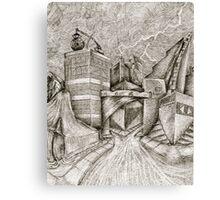 Dynamic Bolt Canvas Print