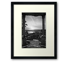 Moody View Framed Print