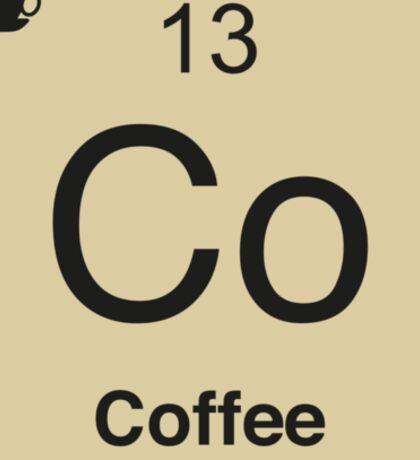 Co Coffee Element Sticker