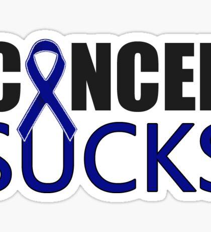 Cancer Sucks Sticker (To Benefit Stand Up To Cancer) Sticker