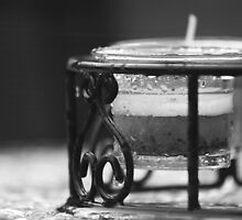 Candle In The Rain by KAGPhotography