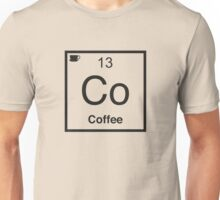 Co Coffee Element Unisex T-Shirt