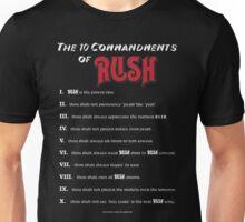 The 10 Commandments of RUSH- Shirts Unisex T-Shirt