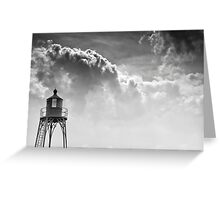 Ship's Beacon at Vlissingen, The Netherlands Greeting Card