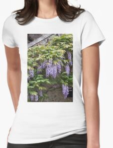 wisteria in spring Womens Fitted T-Shirt
