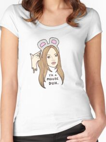 Mean Girls - Karen  Women's Fitted Scoop T-Shirt