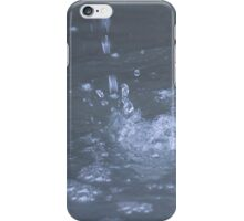 water in the fountain iPhone Case/Skin