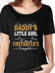 Papa - I'm A Firefighter's Daughter Women's Relaxed Fit T-Shirt
