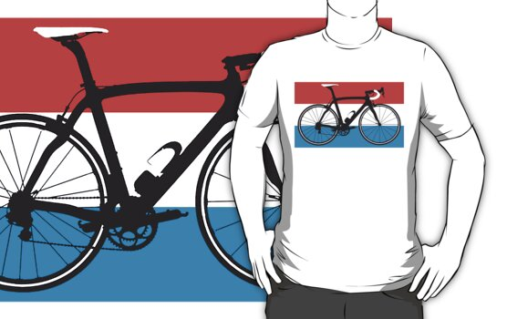 Bike Flag Luxembourg (Big - Highlight) by sher00