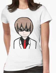 Mal White Suit Womens Fitted T-Shirt