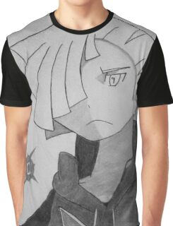 pokemon sun and moon: gladion graphite shading  Graphic T-Shirt
