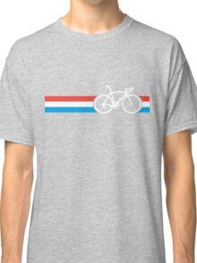 Bike Stripes Luxembourg Classic T-Shirt