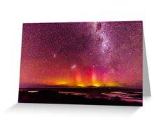 "Aurora Australis ""The Pedals"" Greeting Card"