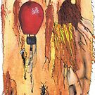 MAN WITH BALLOON by Hares & Critters