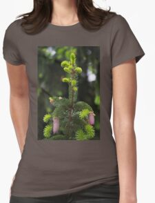 pine in the spring Womens Fitted T-Shirt