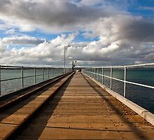Along the Jetty by Paul Barnett