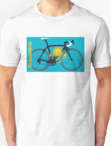 Bike Flag Kazakhstan (Big - Highlight) T-Shirt