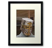 iron armor Framed Print