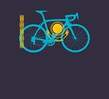 Bike Flag Kazakhstan (Big) Unisex T-Shirt