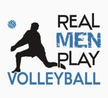 Real men play volleyball by nektarinchen