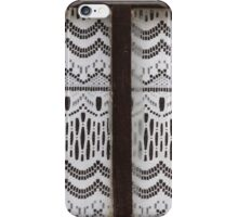 curtains at the window iPhone Case/Skin